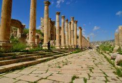 Jerash, a maravilhosa cidade romana da Jordânia