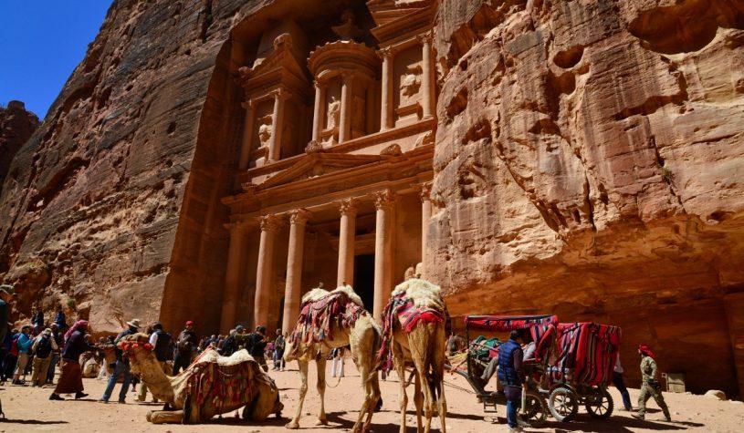 Petra, uma das Sete Maravilhas do Mundo Moderno