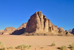 O Deserto Wadi Rum, na Jordânia