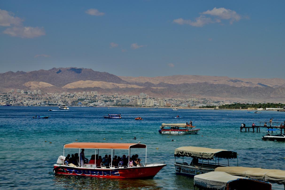 Golfo de Aqaba, um dos lugares mais estratégicos do mundo