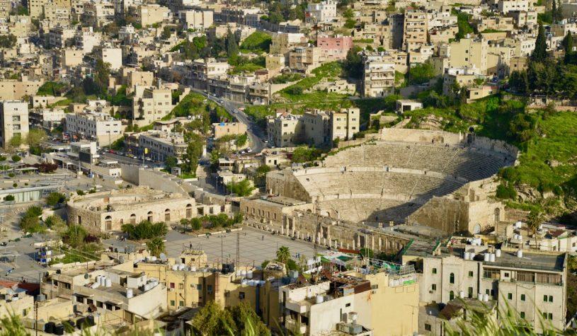 O Anfiteatro Romano de Amã