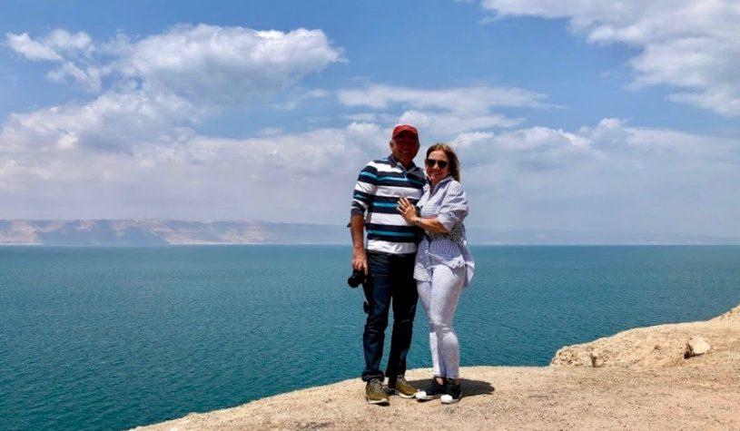 Mar Morto, a mais profunda depressão do planeta