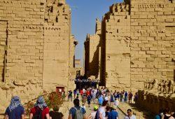 O Templo de Luxor e o Complexo de Karnak
