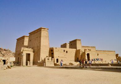 A Barragem de Aswan