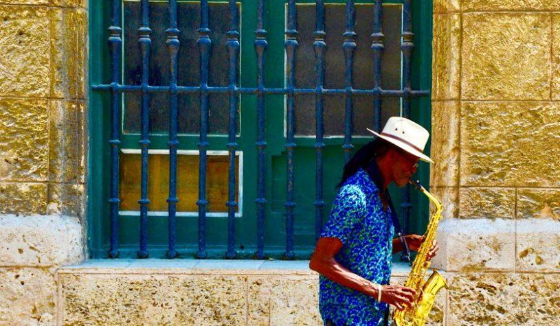 Chegando a Havana, em Cuba
