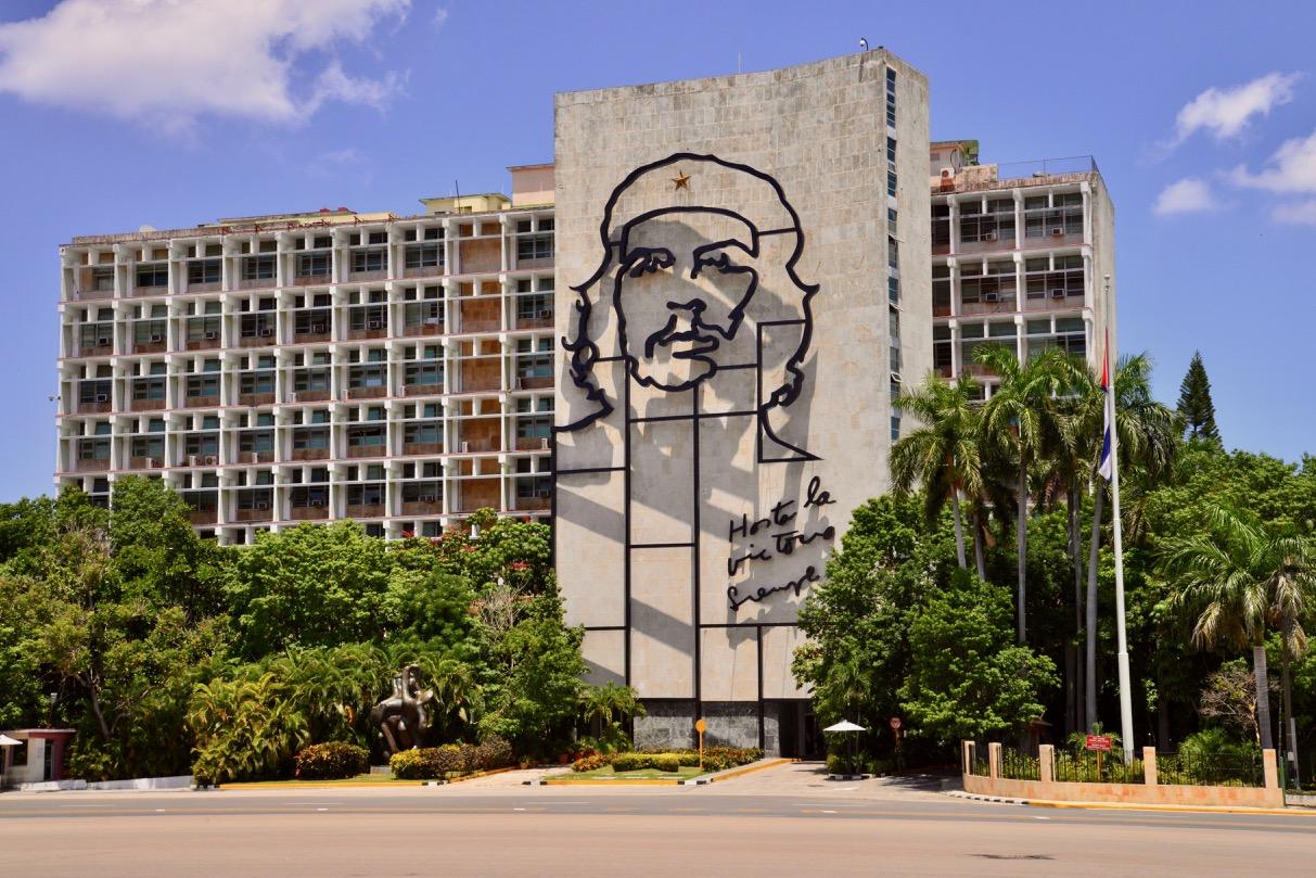 A Praça da Revolução, em Havana