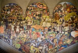 Os murais de Diego Rivera