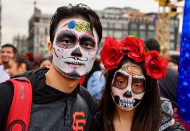 O Dia dos Mortos na Cidade do México