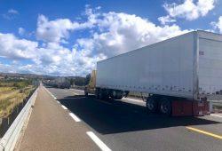 Dificuldades na estrada de Puebla para Oaxaca