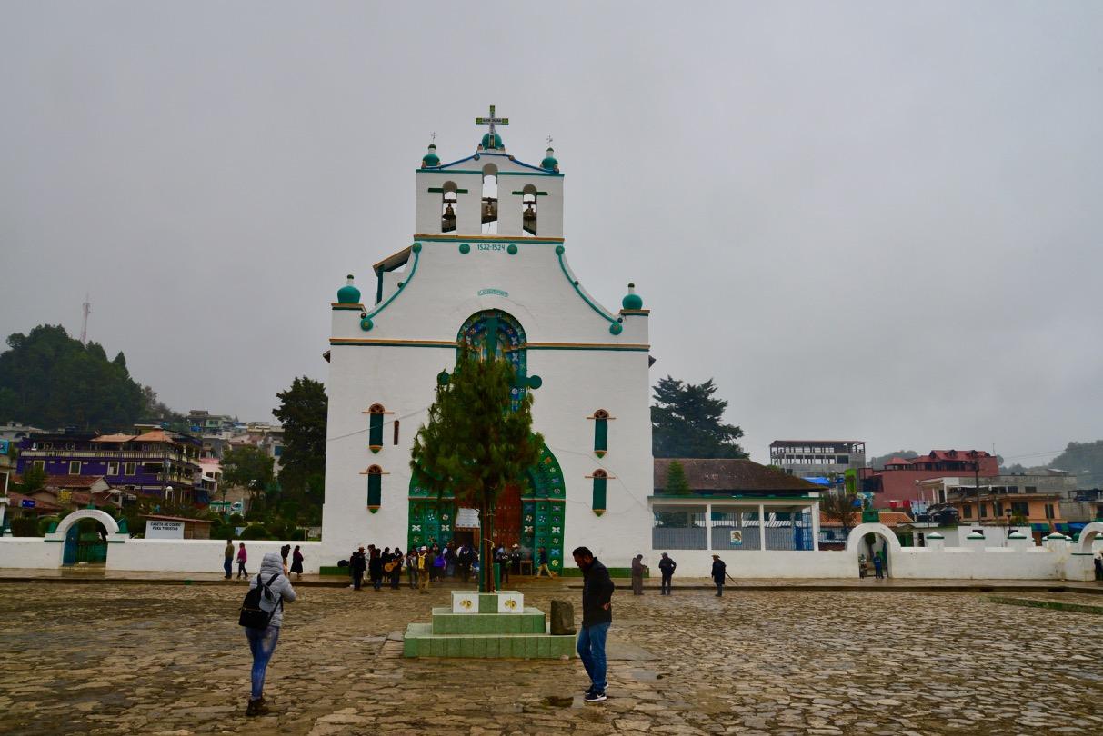 A comunidade indígena San Juan Chamula