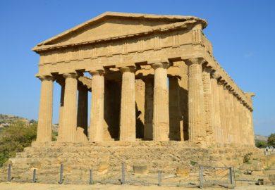 O Vale dos Templos em Agrigento