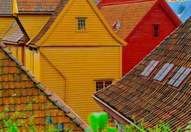 Bergen, a primeira capital da Noruega