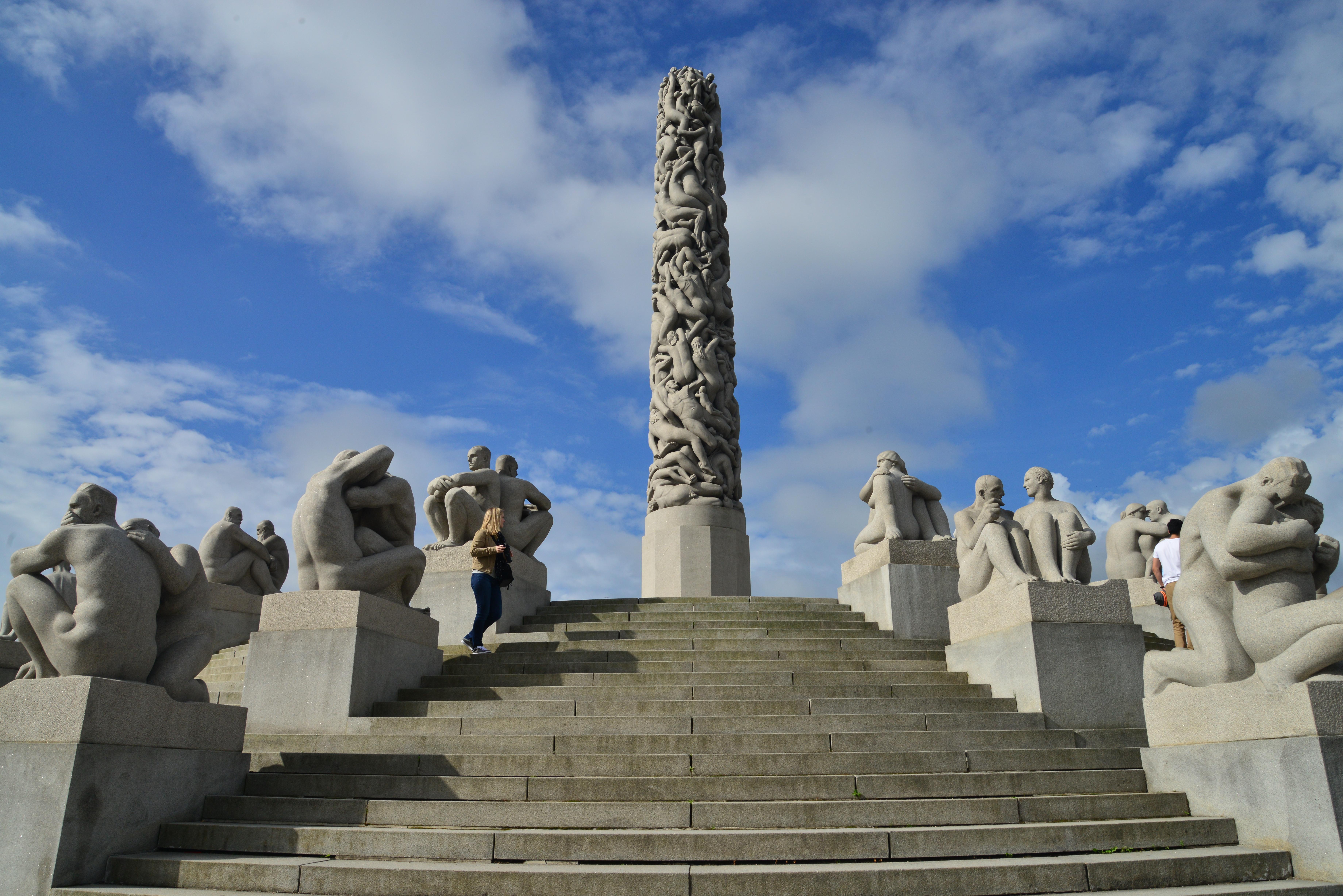O Parque Vigeland em Oslo