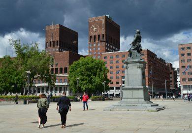 Oslo, a capital da Noruega