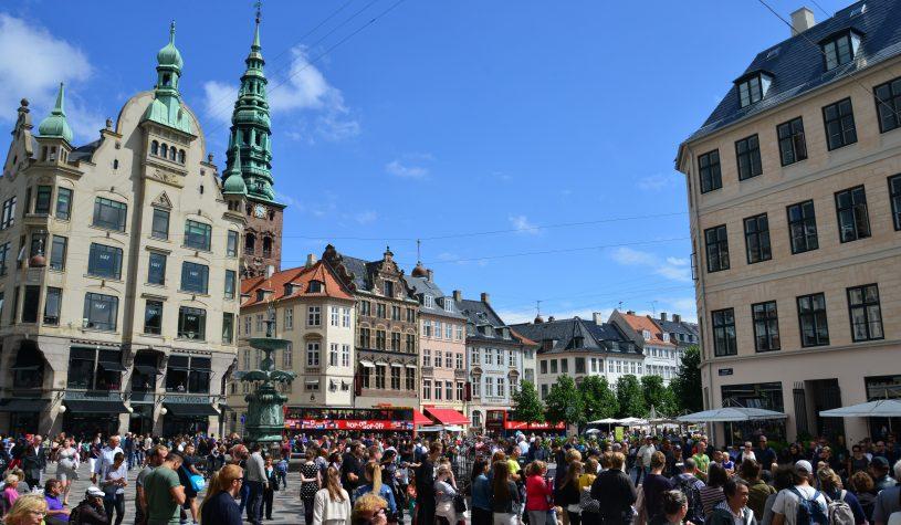 Copenhague, a capital da Dinamarca