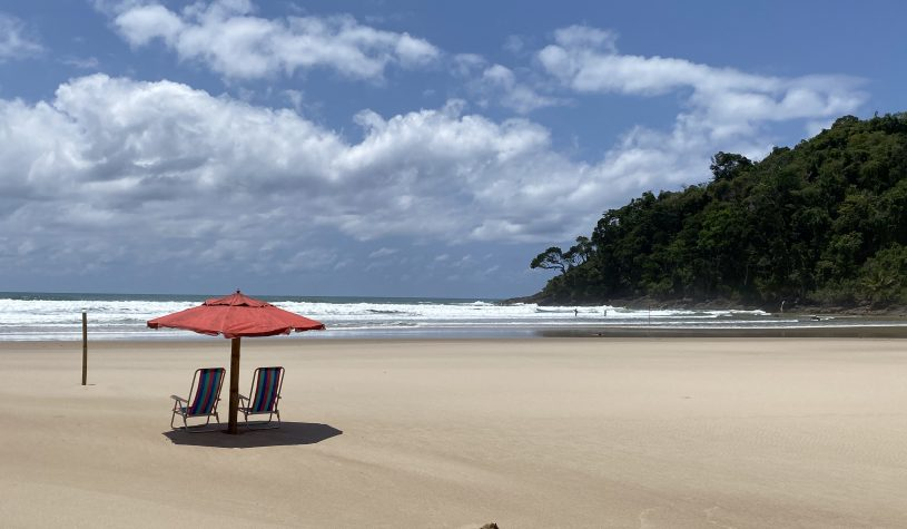 As Praias de Jeribucaçu, Arruda e São José, em Itacaré